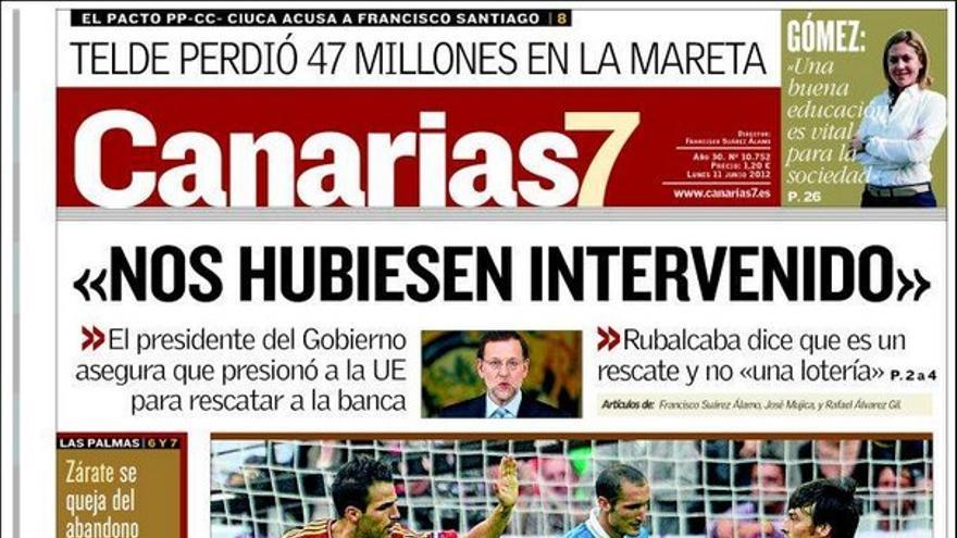 De las portadas del día (11/06/2012) #2