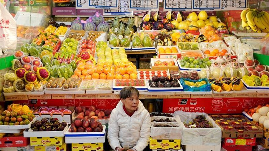 Los precios crecen el 3,8 % en China en octubre, la mayor subida desde 2012