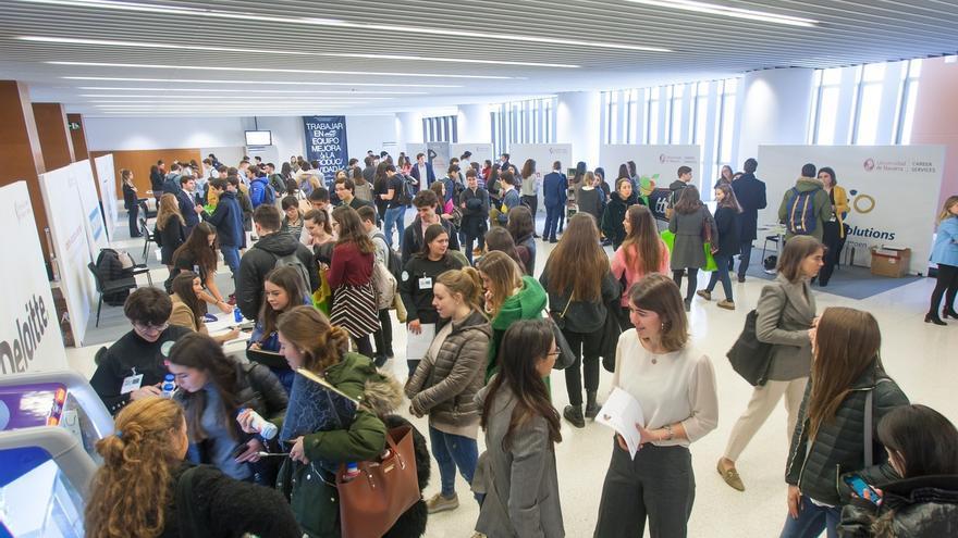 La Universidad de Navarra, la 40 del mundo en empleabilidad, según un ranking