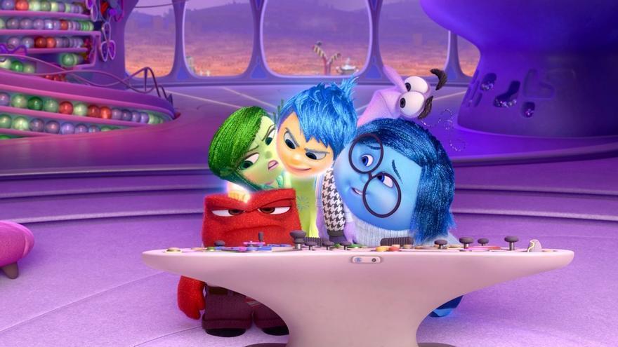 Del Revés, la película de Disney Pixar