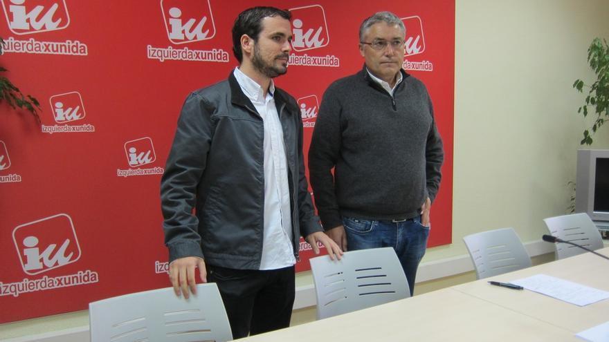 Garzón desvincula a la dirección federal de IU de la decisión de Llamazares de presentarse a las primarias en Asturias