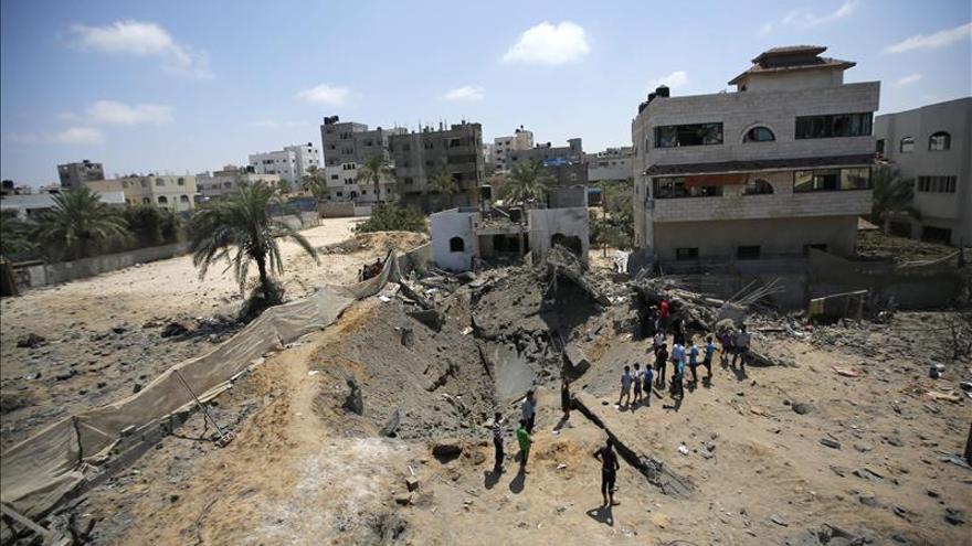 El Ejército israelí bombardea Gaza tras disparos contra su territorio
