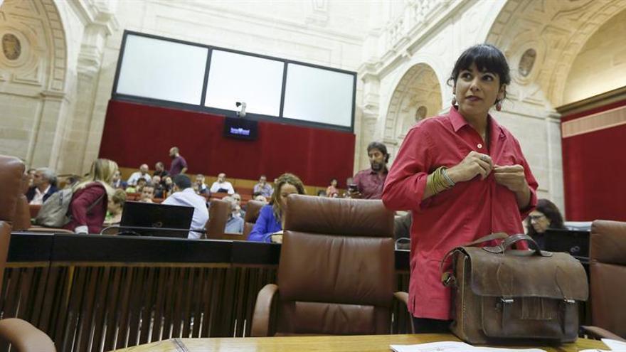 Teresa Rodríguez: hay que articular una alternativa confiable al PSOE y al PP