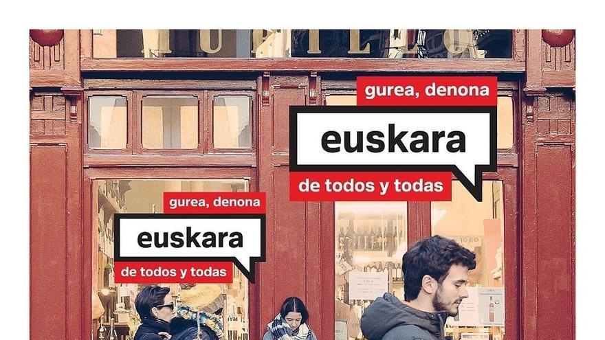 """'El euskera de todos y todas', campaña del Gobierno de Navarra para """"impulsar el prestigio social del euskera"""""""