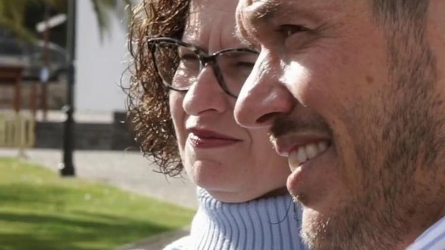 Nieves María Hernández y Mariano Hernández.