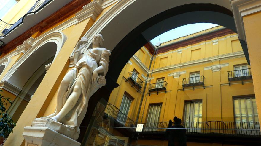 El Palacio del Marqués de Campo, sede del Ministerio de Sanidad durante la Guerra Civil.