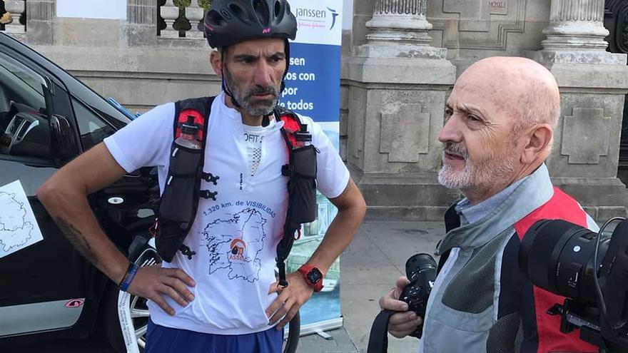 Víctor Loira, ciclista ostomizado