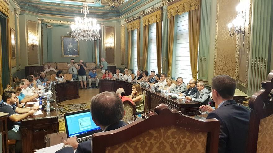 Pleno de la Diputación de Albacete