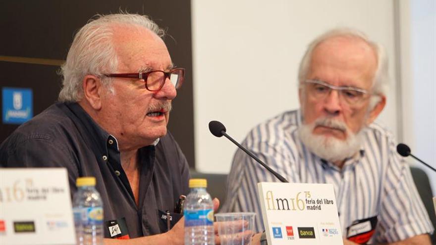 Forges, un autor en continúa lucha con Hacienda por su pensión