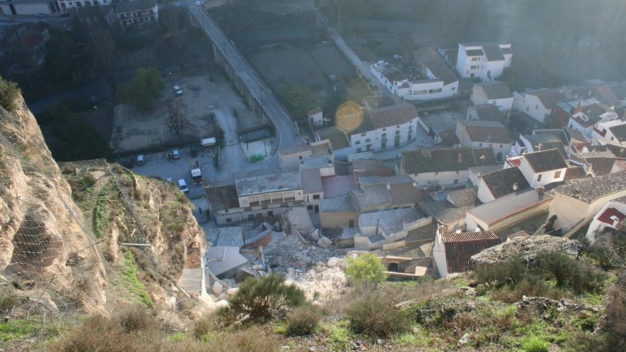 Vista desde la zona superior del municipio