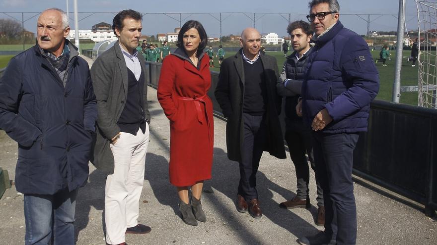 El Ayuntamiento gasta 60.000 euros en renovar los accesos y el vallado de las instalaciones 'Nando Yosu'