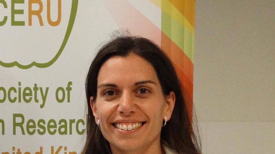 María Jiménez, presidenta de la Sociedad de Científicos Españoles en Reino Unido (CERU)