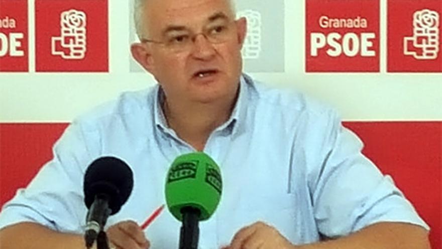 José María Rueda, secretario general del PSOE en la ciudad de Granada.