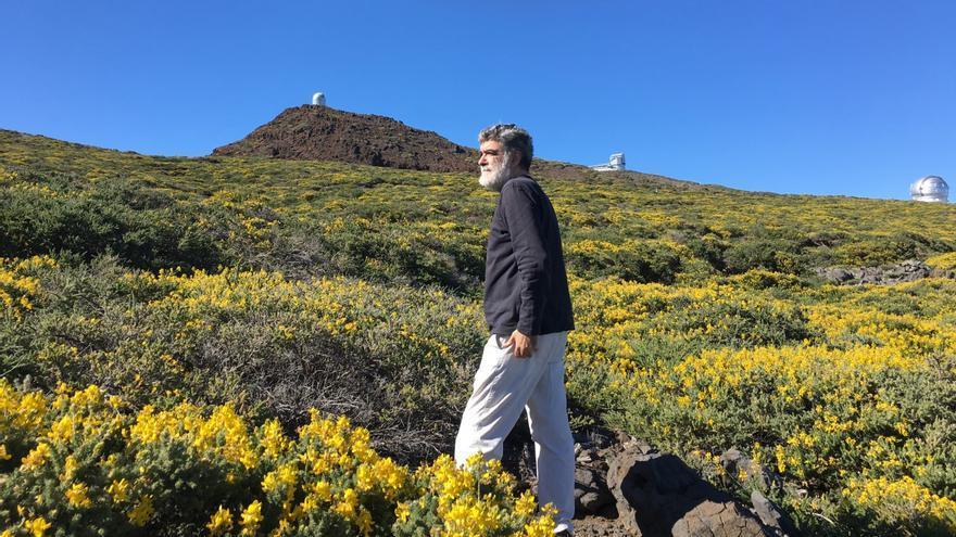 """Anelio Rodríguez Concepción: """"Si la altitud de La Palma favorece la investigación astrofísica, ¿por qué vamos a negarnos a participar en esa gran aventura?"""""""