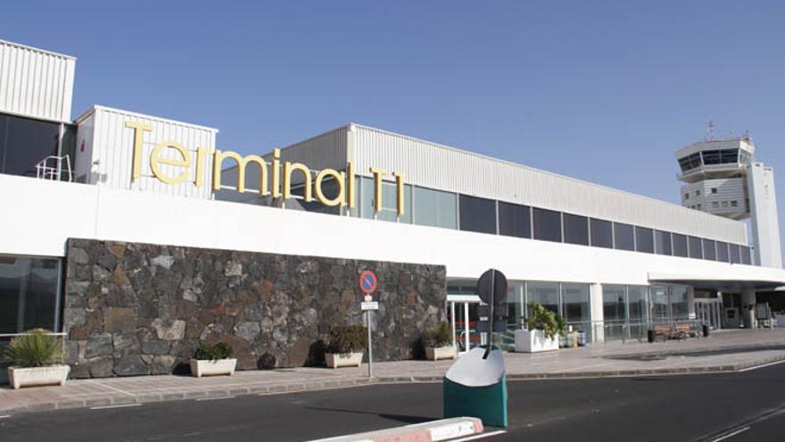 Aeropuerto de Lanzarote. (DE LA CRUZ)
