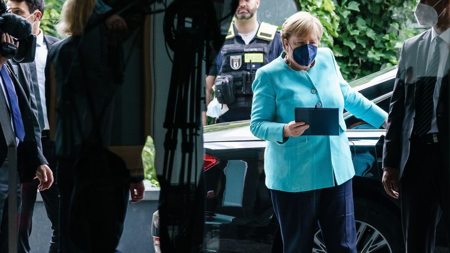 Merkel hace balance de 16 años de Gobierno