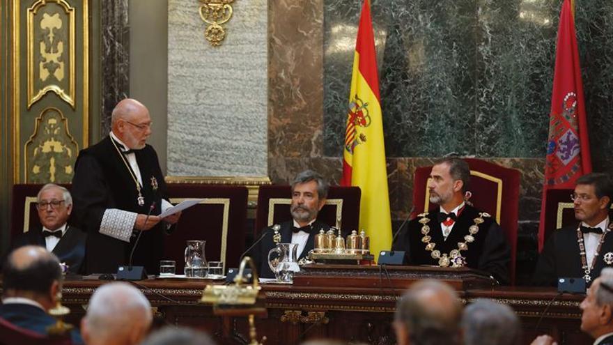 La Fiscalía urge más medios para luchar contra el yihadismo y la corrupción