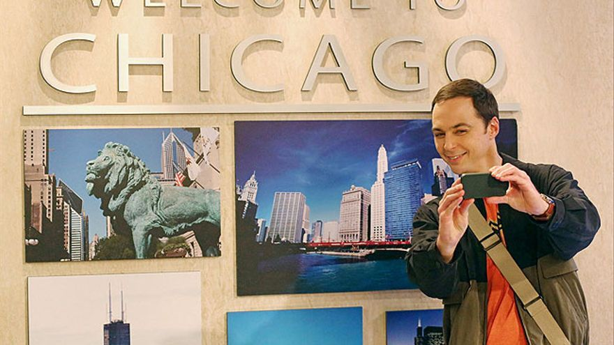 Sheldon Cooper en la 8T de 'The Big Bang Theory'