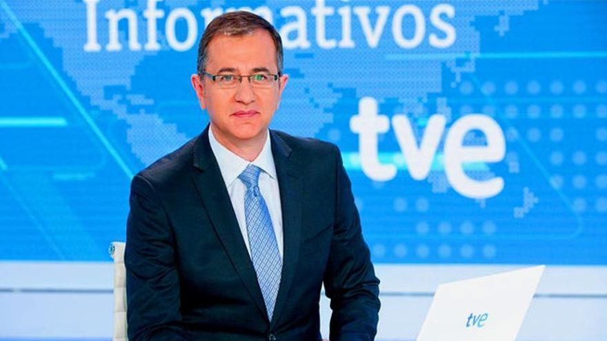 Pedro Carreño, jefe de informativos del fin de semana de TVE
