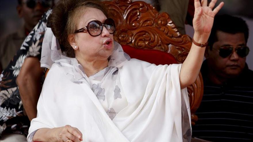 Un tribunal emite una orden de arresto contra la exprimera ministra de Bangladesh
