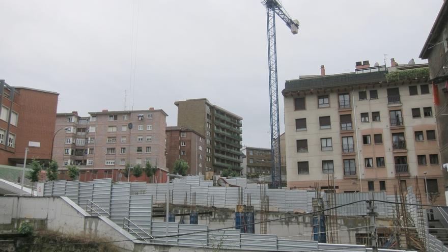 Los costes de la construcción en Euskadi bajaron un 0,2% en abril con respecto a marzo y un 1,2% interanual