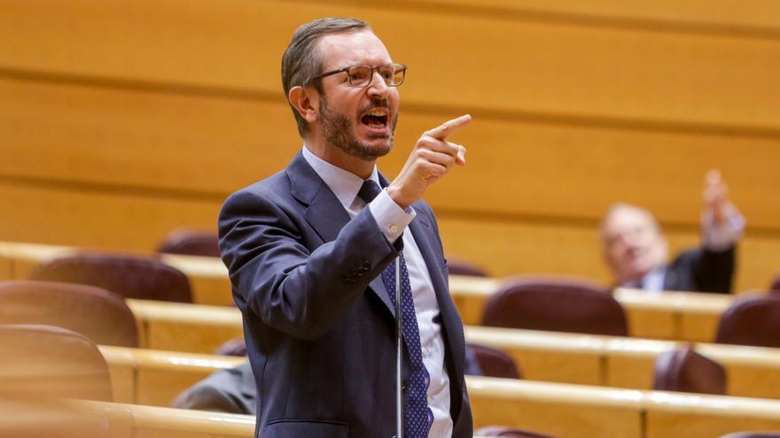 """PP abandona el Pleno del Senado tras una trifulca con Más Madrid por sus acuerdos con """"los fascistas"""" de Vox"""