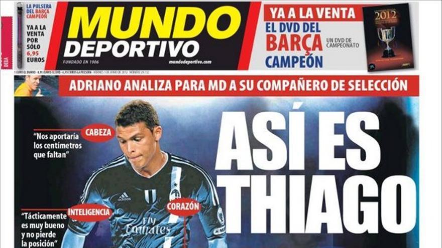 De las portadas del día (01/06/2012) #12