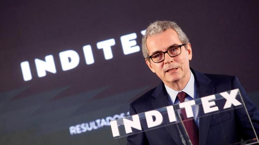 Inditex gana el 2,2 % más en su último ejercicio y eleva sus ventas el 3,2 %