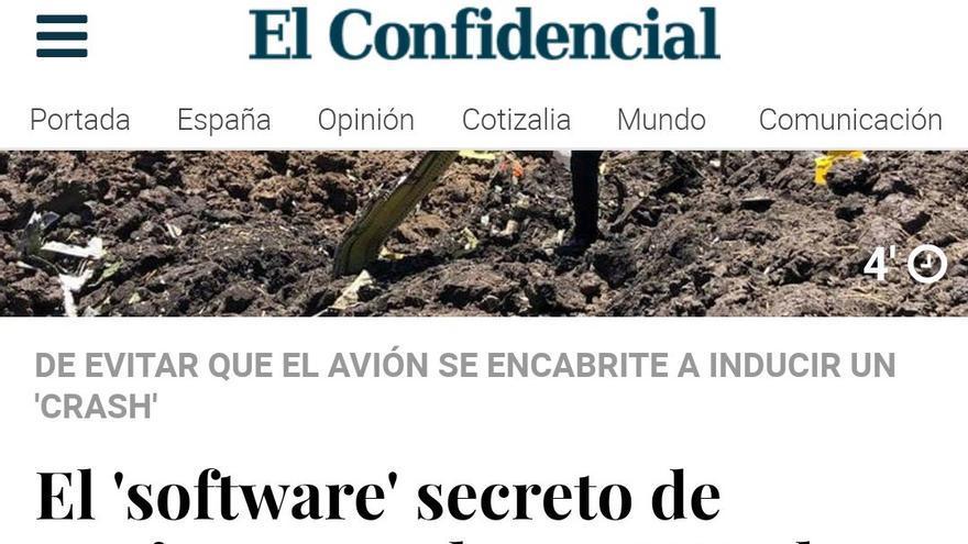 Boeing El Confidencial