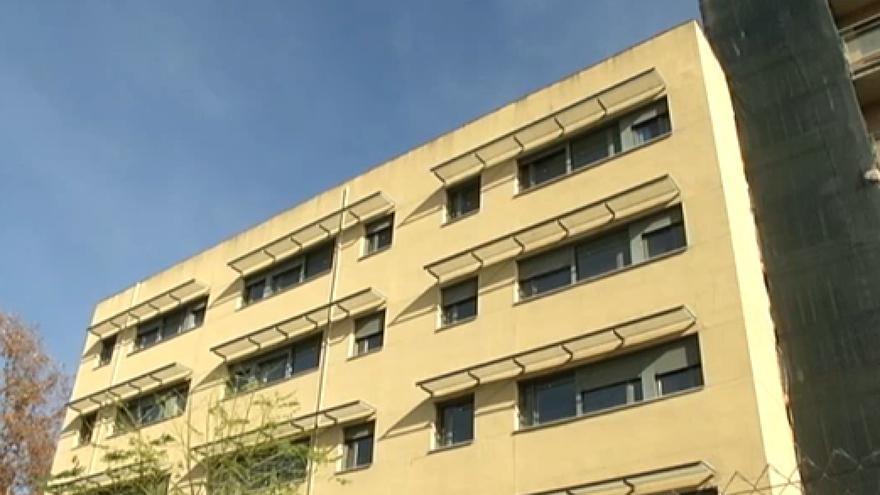 Edificio de Gicaman desalojado / Fotograma de un vídeo de Noticias CMMedia