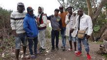Nueve migrantes condenados por el mayor salto a la valla de Ceuta aguardan la decisión de la Justicia sobre su entrada en la cárcel