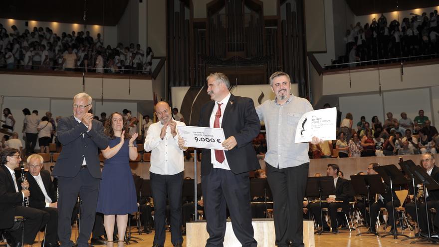 Primer premio en la sección de honor del CIBM