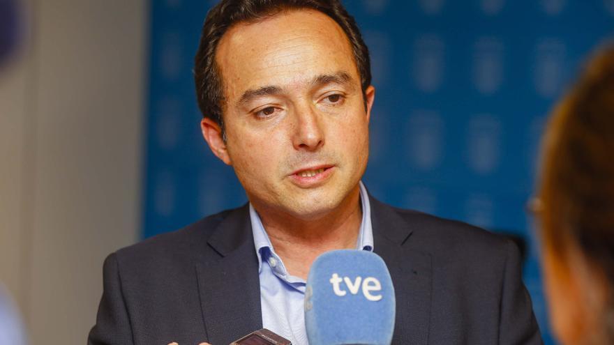 El concejal de Fomento, Servicios Públicos y Aguas de Las Palmas de Gran Canaria, Roberto Santana (CANARIAS AHORA)