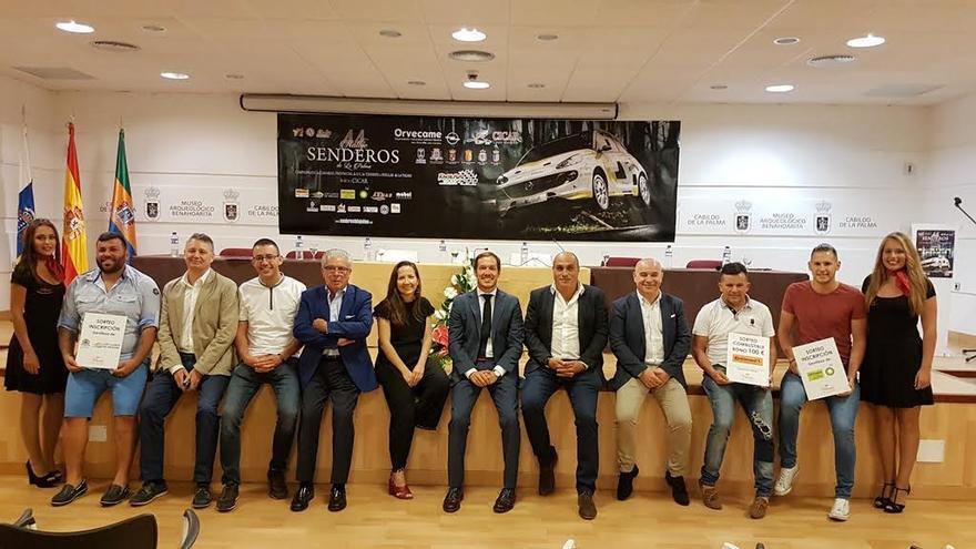 Acto de presentación del evento deportivo en el Museo Benahoarita.