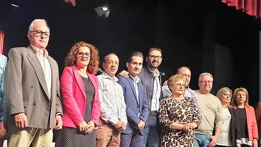 Acto de Sergio Gutiérrez en Navalcán (Toledo)