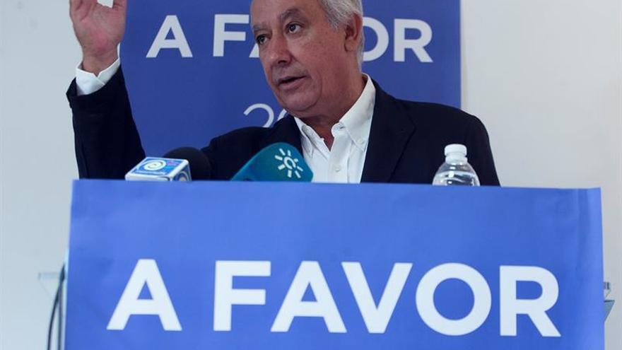 Arenas dice que el PP no busca el apoyo entusiasta de Sánchez sino que permita el gobierno