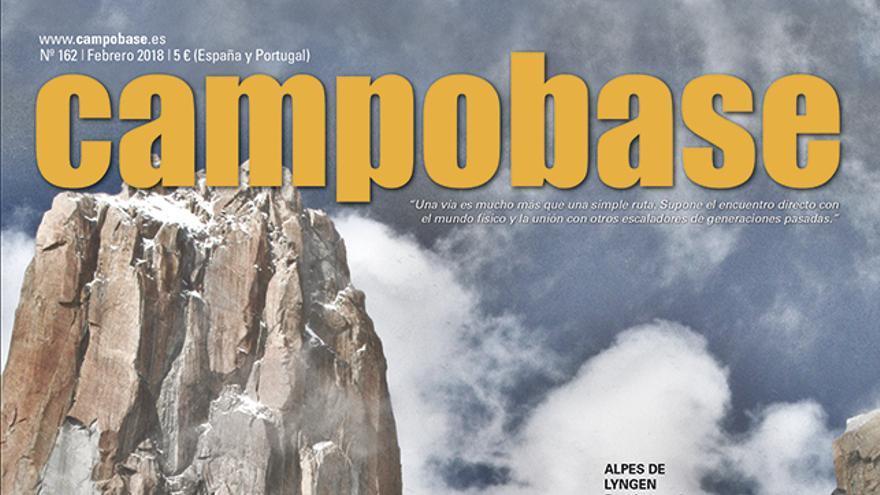 En portada, escaladores en la Gran Torre del Trango, en el Karakórum.
