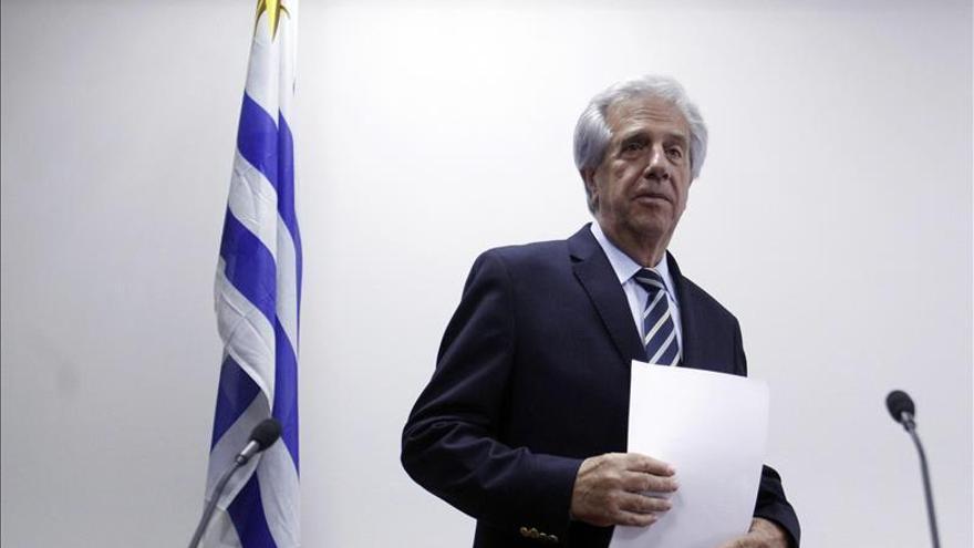 Tabaré Vázquez asume su segundo mandato como presidente de Uruguay