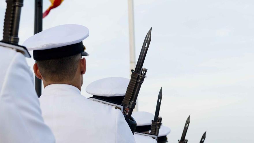 Desfile de las Fuerzas Armadas en Cartagena