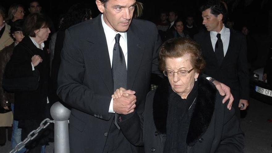 Muere la madre del actor Antonio Banderas