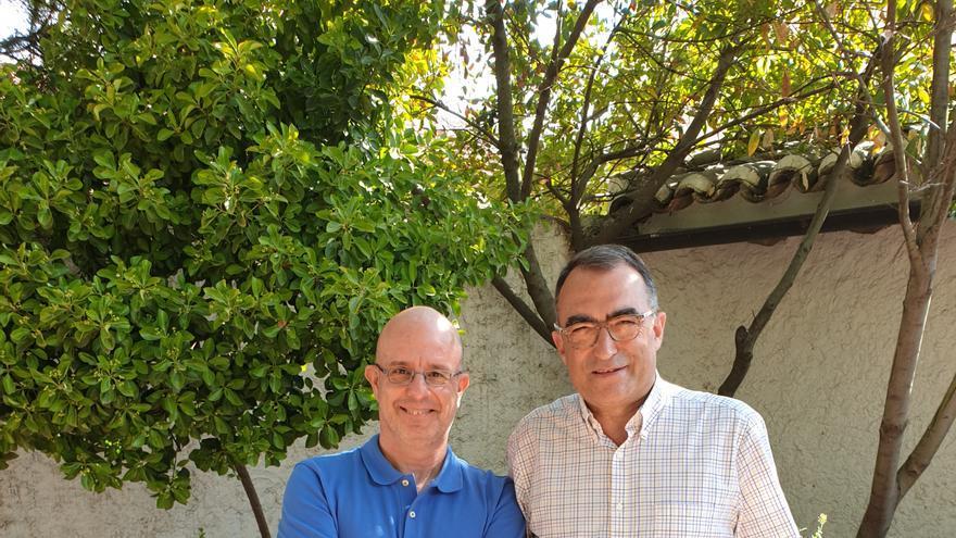 Antonio Mateos (izquierda) y Pep Bernabeu