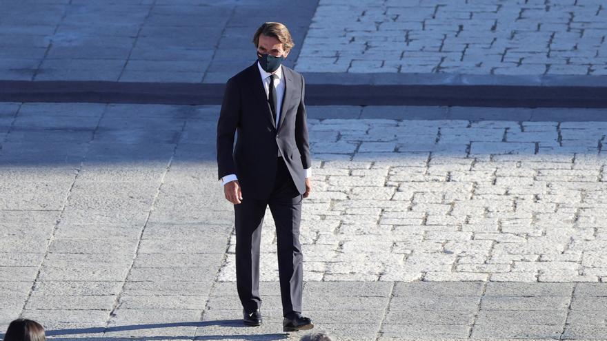 Archivo - El expresidente del Gobierno José María Aznar.