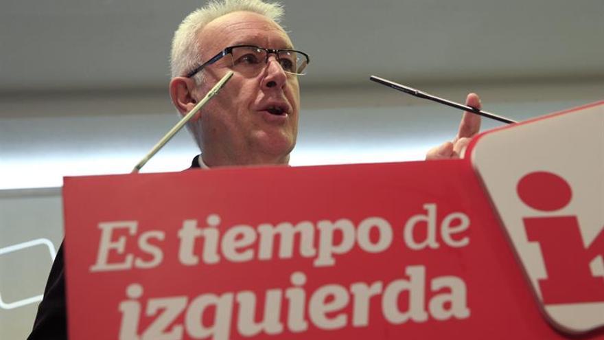 """Cayo Lara: La suma de la izquierda provocará un """"efecto multiplicador""""el 26-J"""