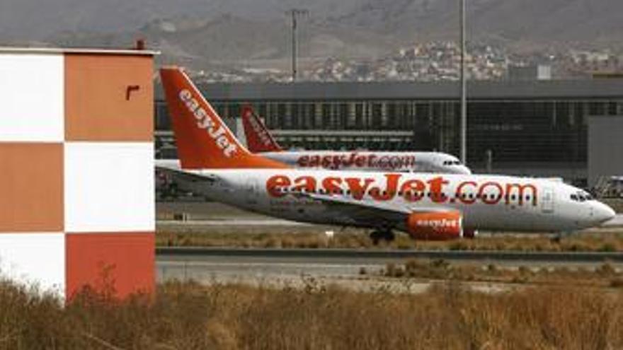 Imagen de aviones de easyJet