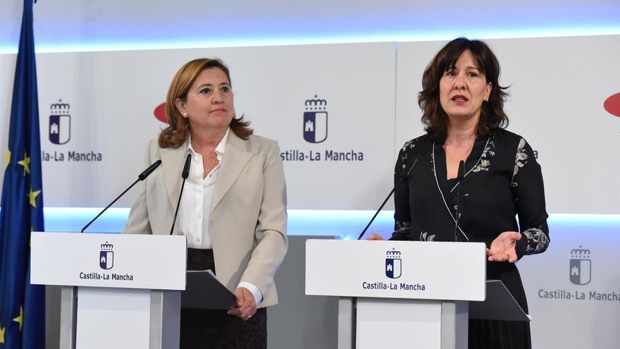 Rosana Rodríguez y Blanca Fernández FOTO: JCCM