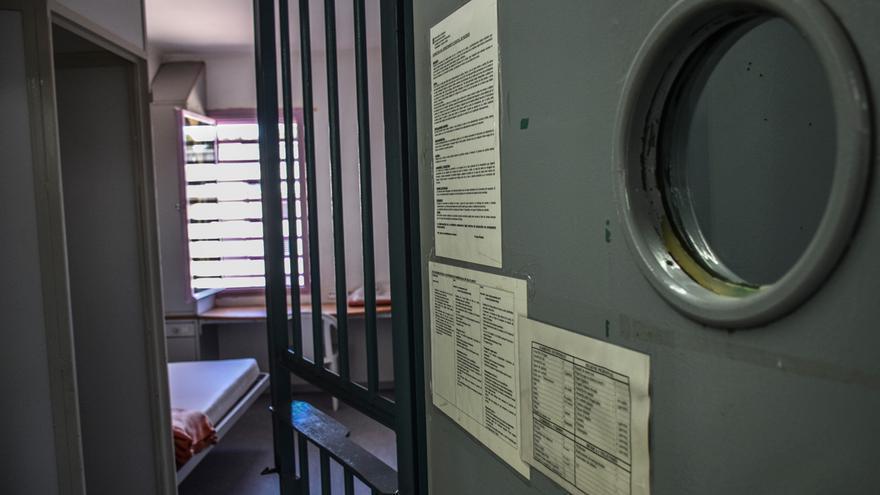 Celda de aislamiento en el Departamento Especial de Régimen Cerrado de Brians 1 (Martorell)
