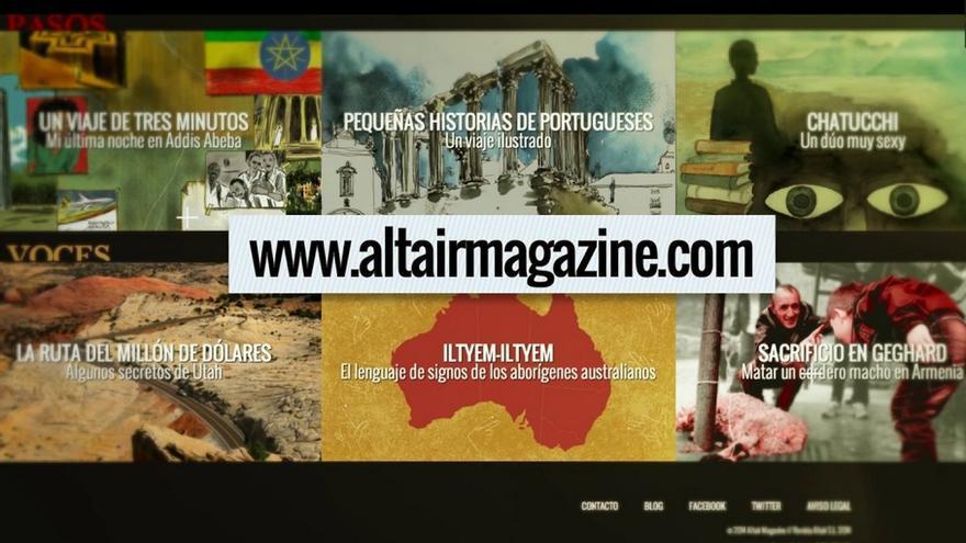 Altair recupera su revista.