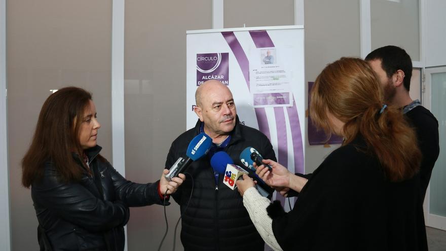 """El candidato de Podemos Juan Pablo Wert propone aplicar el IVA cultural en el propio sector """"para retroalimentarlo"""""""