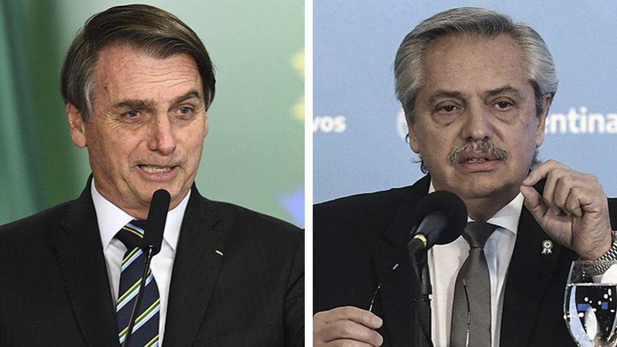 Nuevo cruce entre Bolsonaro y Fernández.
