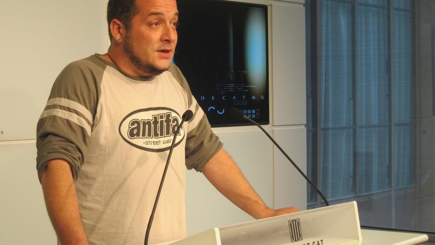 David Fernández (CUP) es el líder más valorado y Mas suspende, según el CEO